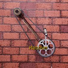 lighting chain by the foot vintage iron water pipe wall l loft style wheel wall sconce