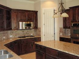 concrete countertops knotty alder kitchen cabinets lighting