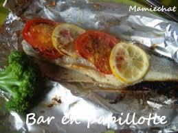 cuisine en papillote bar en papillote recette ptitchef