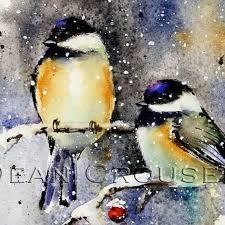 watercolor tutorial chickadee chickadee 10 watercolor bird painting original fine art for sale