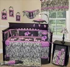 Zebra Print Baby Bedding Crib Sets Purple Cheetah Print Jungle Animal Safari Theme Baby Bedding Crib