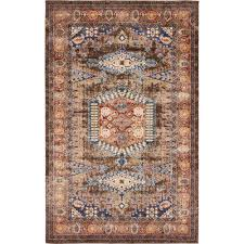 Light Brown Area Rugs Festival Area Rug Tobacco 8 U0027 X 11 U0027 By Home Decorators Havenly
