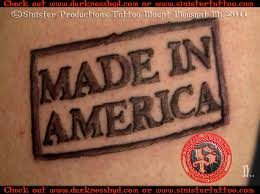 made in america tattoo done by d sinister productions u2026 flickr