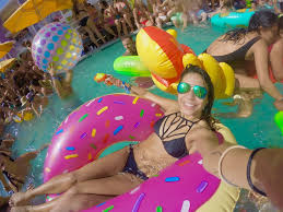 splash house june 2016 the best pool party music festival in floaty selfie 2 pool party at splash house music festival in saguaro palm springs