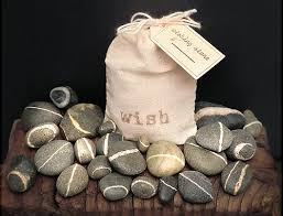 wedding wishing stones wishing stones