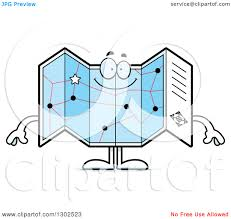 Happy Maps Character Map Clipart Clipground