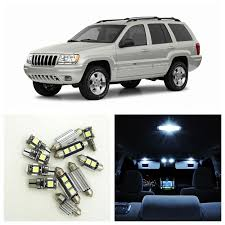 2001 jeep grand interior aliexpress com buy 10pcs canbus white car led light bulbs
