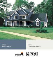 Color For 2016 Paint Color Ideas For Colonial Revival Houses Blue Shutters