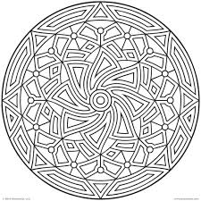images of printable hard geometric coloring pages within geometric