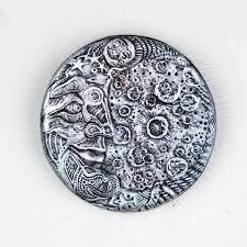 Garden Wall Plaque by Blue Moon Stone Garden Art Moon Sculpture Man In The Moon