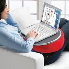 Laptop Desk With Cushion E Pad Laptop Pillow Desk