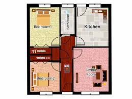 collection two bedroom bungalow floor plans photos free home