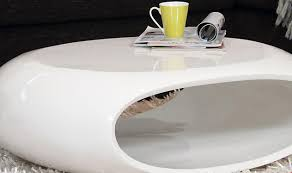 Contemporary White Coffee Table by White Lacquer Coffee Table Chrome Legs Bed U0026 Shower Designer