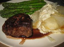 cuisine filet mignon filet mignon in a balsamic glaze food for thought