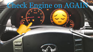 infiniti g35 service engine soon light g35 coupe clearing check engine light youtube