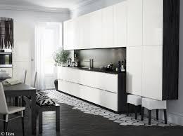 buffet cuisine noir cuisine noir et blanche deco cuisine unique cuisine beige et