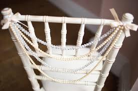 Vintage Wedding Chair Sashes Chair Decor Ideas Bridal Musings