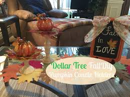 Pinterest Dollar Tree Crafts by Dollar Tree Fall Diy Pumpkin Candle Holders 2016 Halloween