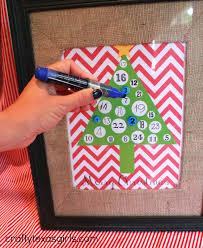 crafty texas girls craft it chevron advent calendar a free