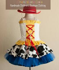 Toy Story Jessie Halloween Costume Toy Story Inspired Jessie Costume Custom Charlotteandclaire