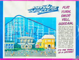 Six Flags In America Theme Park Nostalgia Shockwave Six Flags Great America June 3