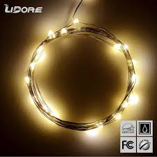 lidore micro led 20 warm white lights with timer