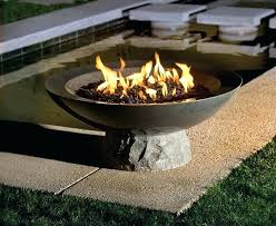 Firepit Bowls Bowl Pit Attractive Concrete Gottaketchup Inside 12