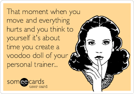 Personal Trainer Meme - my trainer said he s surprised we don t send him e cards thanking