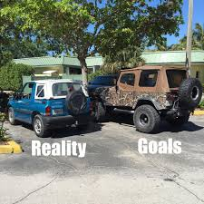 jeep memes i made a second meme get jeep tracker wrangler goals reality