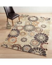 amazing deal on verna pinwheel gray 6x9 rug