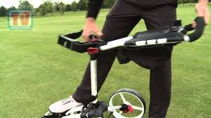 dgtv big max wheeler 4 wheel golf trolley youtube