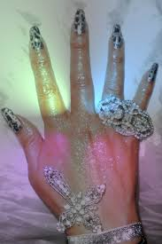 try acrylic nails to get your nails still look horrible one