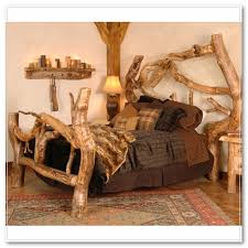 log beds from minnesota rustic beds barnwood beds twig beds