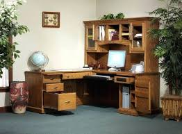 um size of the works l shaped executive desk with hutch by altra southampton onyx l