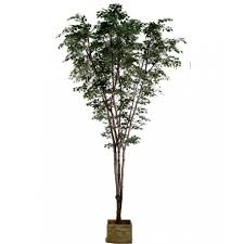 large artificial tree birch