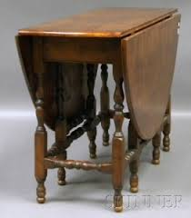 antique drop leaf gate leg table search all lots skinner auctioneers