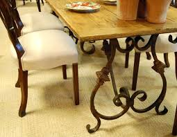 Rod Iron Dining Room Set Wrought Iron Dining Room Table Wrought Iron And Glass Dining Room
