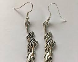 earrings new york new york earrings etsy