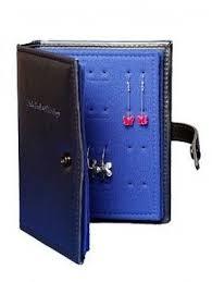 book of earrings travel earring organizer foter