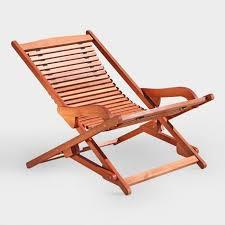 patio folding chaise lounge world market