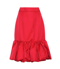 silk skirt prada wool and silk skirt melania skirt for hispanic