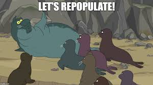 Futurama Meme Maker - image tagged in beachmaster futurama seal population imgflip