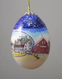 egg ornament country christmas egg ornament sabbathday lake shaker