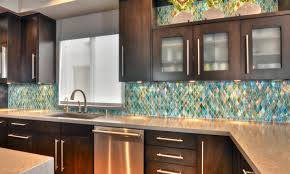 tile backsplash ideas for kitchen under cabinet lighting modern