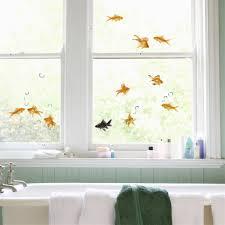 goldfish window decals the green head goldfish window decals