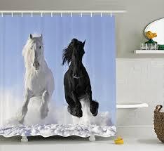 Horse Bathroom Accessories by Horse Racing Decor Amazon Com