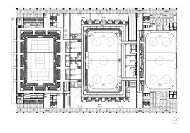 Arena Floor Plans by Icehockey And Volleyball Arena Stadium Caruso St John Architects