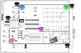 design a warehouse floor plan warehouse factory security package complete alarms sydney
