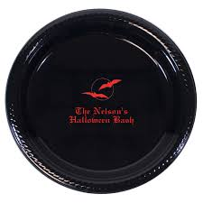 halloween plates let u0027s all scream for halloween party ideas studio notes
