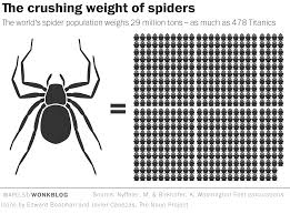 spiders could theoretically eat every human on earth in one year